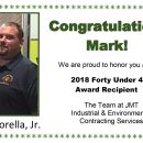 Congratulations Mark!